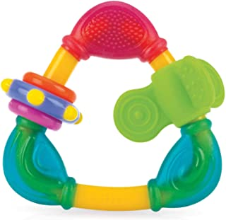 Nuby Spin N' Teethe Teether, Colors May Vary