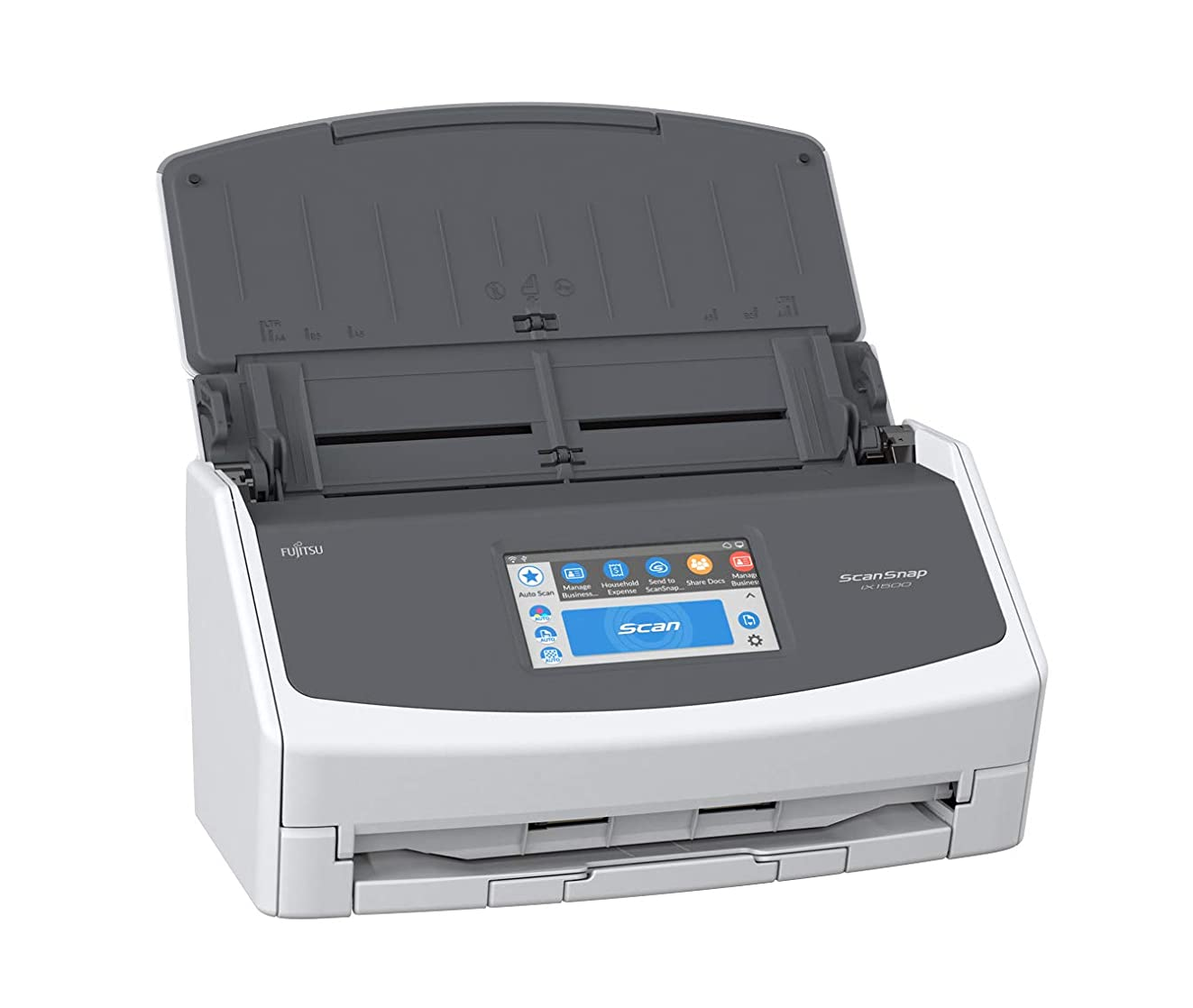 Fujitsu ScanSnap iX1500 Color Duplex Document Scanner with Touch Screen for Mac and PC [Current Model, 2018 Release]