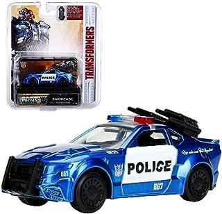 Barricade Transformer The Last Knight Metals Diecast 1:64 Scale Car