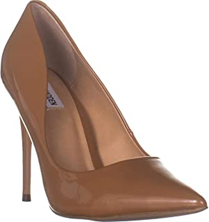 Steve Madden Daisie Pointed-Toe Pumps, Camel Patent