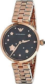 Emporio Armani Women's Quartz Watch analog Display and Stainless Steel Strap, AR11197