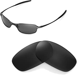 Walleva Replacement Lenses for Oakley Square Wire 2.0 Sunglasses - 9 Options Available