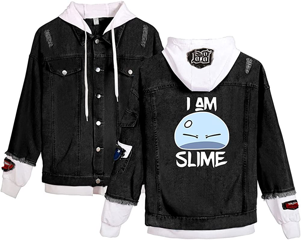 CNSTORE That Time I Got Reincarnated as a Slime Hoodies Cowboy hooded jacket Casual Plus size XXS-4XL Outwear