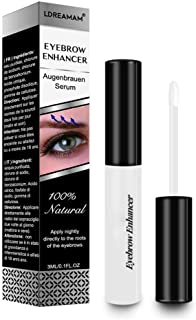 Eyebrow Growth Serum,EyeBrow Enhancing Serum,Natural Eyelash Growth Enhancer,Boosts Eyebrow Regrowth Prevents Eyebrow Thinning Breakage and Fall Out - Grow Stronger,Fuller,Thicker