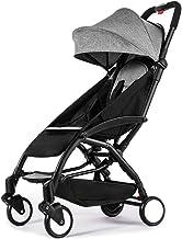 TMY Cómodo Sillas de Paseo Los cochecitos de bebé se Pueden sentar Sillones reclinables Paraguas Plegables portátiles Ligeros Cochecitos Aviones Cochecitos de niño Sillas de Paseo Sistemas de Viaje