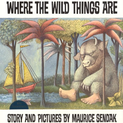 Where the Wild Things Are audiobook cover art
