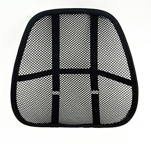 buenoway LORDOSENSTÜTZE mit einstellbaren Krümmung! Rückenstütze Rückenkissen für Autositz oder Bürostuhl