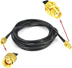 YOTENKO WIFI Antenna Extension Cable SMA Male to SMA Female RF Connector Adapter RG174 2M