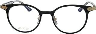 GG 0068O Titanium Round Eyeglasses 49mm