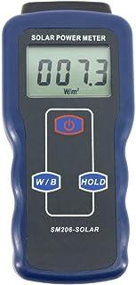 Instrumento de medición Los datos del metro de la luz del metro de la energía solar