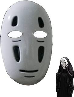 Halloween Mask Spirited Away No-Face Faceless Ghibli Mask Cosplay Anime Costume White