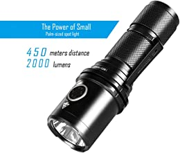 ZZJ Lampe De Poche Rechargeable, CREE XHP35 Hi LED