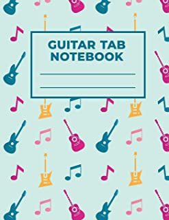 Guitar Tab Notebook: Music Paper for Teachers, Students, Guitar Players and Musicians