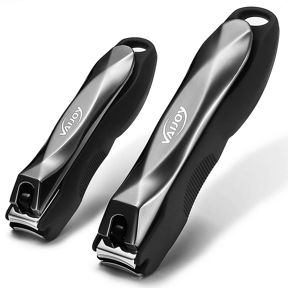 VAIJOY Nail Clippers with Catcher Branded goods Preventing Fingernail Max 60% OFF Splash T