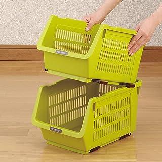 CAI Boîte de Rangement pour Les ménages Cuisine en Bois Massif Plastique Multicouche en Plastique - Légumes Debout Classif...