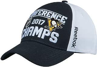 Men's Pittsburgh Penguins Reebok 2017 Eastern Conference Champions Locker Room Adjustable Hat