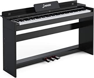 LAGRIMA 88 Key Digital Piano Full Size Electric Keyboard w/M