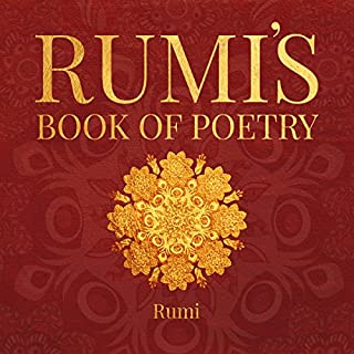 Rumi's Book of Poetry audiobook cover art