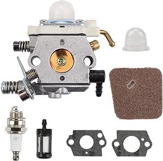 HONEYRAIN Carburetor Kit for Stihl FS74 FS75 String Trimmer Replace Walbro WT-227-1 WT-227 WT227