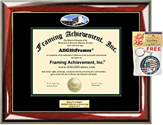 Diploma Frame Cal Poly Pomona California State Polytechnic University Pomona Campus Photo Engraved Picture Frames Engraving Plaque Certificate Holder Graduate Him Her