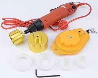 KUNHEWUHUA 10-50mm Handheld Electric Cap Sealing Machine Bottle Capper Capping Machine Capping Diameter for Round Cap Bottles and Tubes