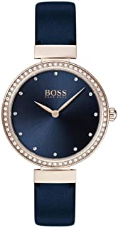 Hugo Boss Reloj Analógico para Mujer de Cuarzo con Correa en Cuero 1502477