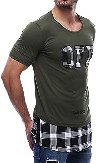Madmext Salaş Haki Yeşili Tişört 2576