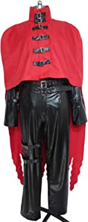 Vincent Valentine Vince Vinnie Uniform Outfit Halloween Cosplay Costume