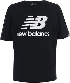 New Balance Womens Essentials T-Shirt in Black.