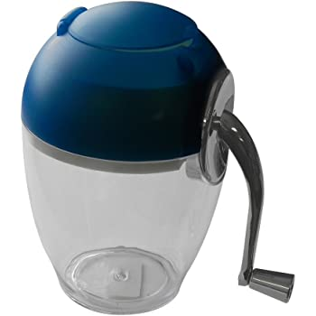 Ice Crusher with Handle and Blue Top Bartending Tool