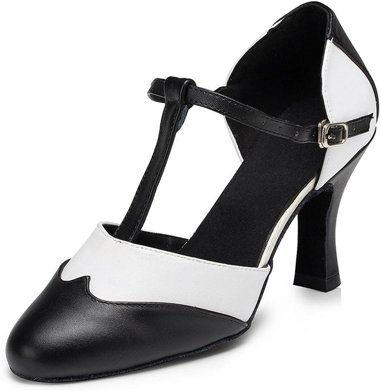 Damenschuhe Tanzen Echtleder Ballsaal Latein Latein Taogo Pumps Sandalen Größe 35 bis 40  Neuheiten
