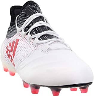 Mens X 17.1 Firm Ground Leather Soccer Athletic Cleats,