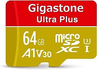 【5年保証】Gigastone Micro SD Card 64GB マイクロSDカード A1 V30 UHD 4K ビデオ録画 高速4Kゲーム 95MB/s マイクロ SDXC UHS-I U3 C10 Class 10 micro sd カ...