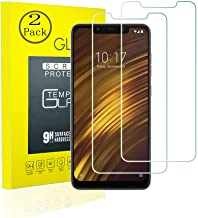 Sponsored Ad - [2 Pack] Xiaomi pocophone F1 Tempered Glass Screen Protector With 2.5D Round Edge Ultra Thin Shatter-Proof ...