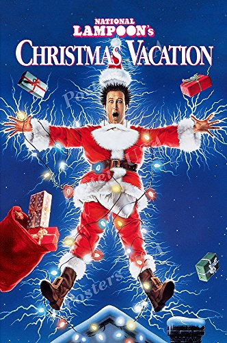 Christmas Vacation Movie Poster Glossy Finish Made in USA - FIL707 (24' x 36' (61cm x 91.5cm))