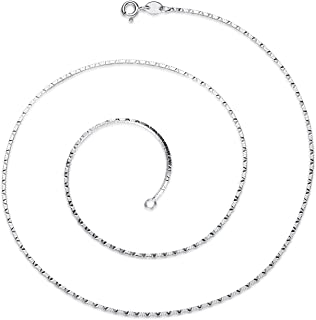 GemShadow 925in argento Sterling, lunghezza 45cm
