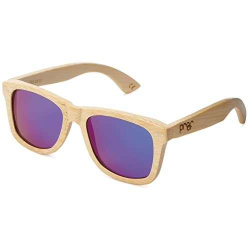 98a3d3e65b Proof Eyewear Unisex Ontario Maple Wood Handcrafted Water Resistant Wooden  Sunglasses