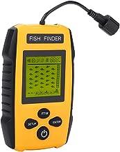 100M LCD Fish Finder wordt geleverd met een draagriem om u te helpen de vis en de diepte van het water te ontdekken, voor ...