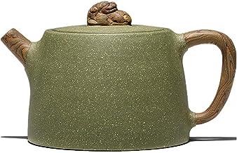 Teapots Purple Sand Teapot Teapot Large Teapot Tea Pots Tea Pot Tea Pots Tea Maker Mini Teapot Pure Handmade Teapot Handmade Purple Clay Teapot (Color : Green, Size : 300cc)