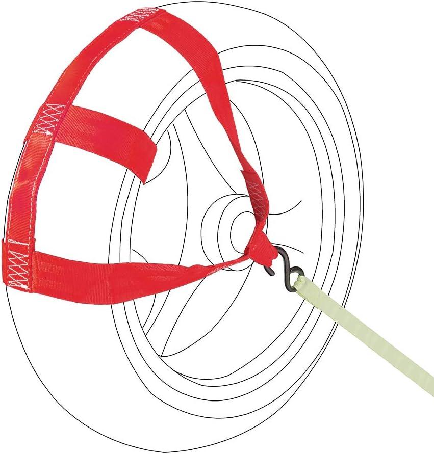 MOTO4U Universal Motorcycle Rear Wheel Tie down Strap Fluorescent green