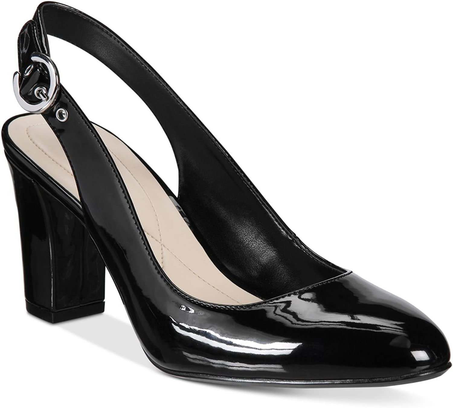 Alfani Womens Laylaa Slingback Pumps Black 7.5M