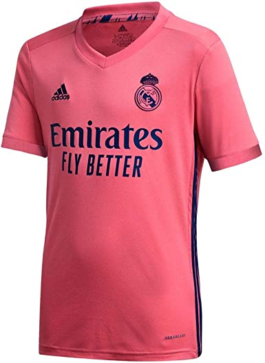 Real Madrid Away Youth Soccer Jersey- 2020/21