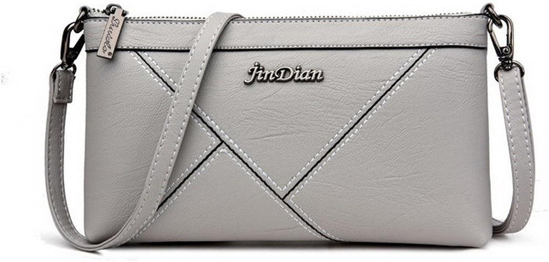 WeenFashion Women's Work Shopping Clutch Handbags Buckle Pu Crossbody Bags, AMGBW181553