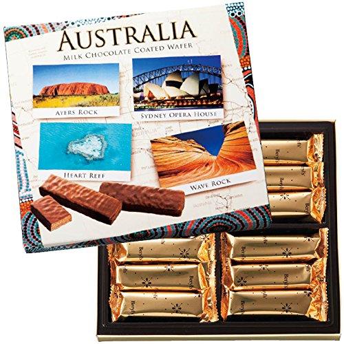 オーストラリア 土産 オールオーストラリアチョコウエハース 6箱セット (海外旅行 オーストラリア お土産)