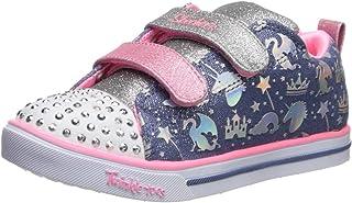 Skechers Sparkle Lite - Sparkleland Girls Sneakers, Light Blue/Multi