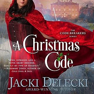 A Christmas Code audiobook cover art