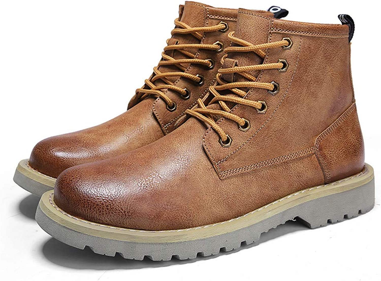 Dig dog bone Men's Ankle Boots Casual Stylish and Comfortable Round Toe Outsole Work shoes