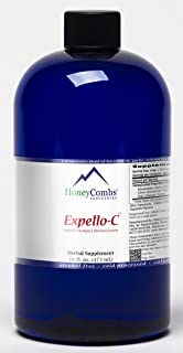 Expello-C - Ultimate Cellular Detox – Cleanse and Detox – Echinacea, Goldenseal & Red Clover Supplement – Alcohol-Free Liq...