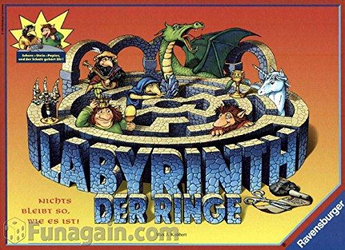 Ravensburger 26166 - Labyrinth der Ringe