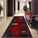 Teppich-Läufer auf Maß Maraba | Moderner Wohnteppich für Flur, Küche, Schlafzimmer | Meterware,...